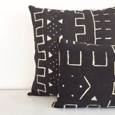 Authentic handmade mud cloth pillow from loomgoods.com (@loomgoods)
