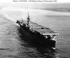 Underway 1943 Official U.S. Navy Photograph, from the collections of the Naval Historical Center (photo # NH 97269). From Navsource