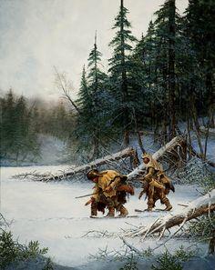frigid trackers by Andrew Knez Jr