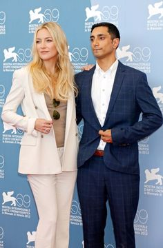 """Kate Hudson and Riz Ahmed At Venice Film Festival """"The Reluctant Fundamentalist"""" Premiere"""