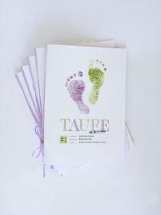 Einladungskarten - Kirchenheft Umschlag - ein Designerstück von NimmsPersoenlich bei DaWanda