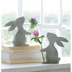 Deko-Figur, Minivase Hase Vorderansicht                                                                                                                                                                                 Mehr