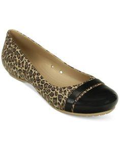 453791dee59a3 Crocs Women s Cap Toe Flats   Reviews - Flats - Shoes - Macy s