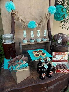 Vintage Father's Day Party