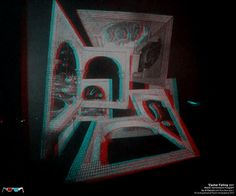Al Razutis is an educator, innovator, and artist in holographic art and technologies, motion-picture film, and stereoscopic video art. Hologram, Holographic, 3d Video, Mc Escher, Art And Technology, Alchemist, Illusions, Artist, Pictures