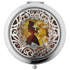 Belle Compact Mirror - Disney Collection | Sephora OH MY GOODNESS GRACIOUS! MY FAVORITE CHARACTER OF ALL TIME, PLUS, THIS IS ABSOLUTELY STUNNING! $32 at Sephora - LIMITED EDITION!