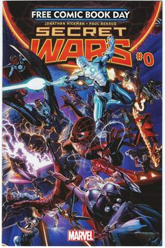 Secret Wars #0 NM 1st Print Alex Ross Cover Free Comic Book Day - Marvel 2015 - Other