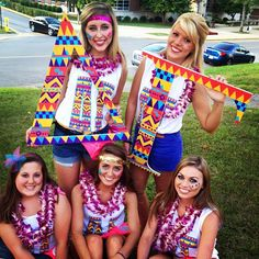 Delta Gamma at Morehead State University #DeltaGamma #DG #BidDay #letters #tribal #sorority #MoreheadState