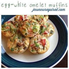 Tone It Up - Recipe Profile - egg-white omelet muffins