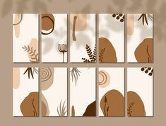 Leaf Prints, Wall Art Prints, Boho Room, Instagram Post Template, Tree Print, Pretty Pictures, Boho Decor, Printable Art, Wall Art Decor