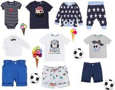 Schönes für unsere kleinen Prinzen findet Ihr in unserer Online Boutique  <3 www.stylekind.at #jungs #bekleidung #boys #mode #blau #greencotton #billybandit #pirat #gestreift #sterne #totenkopf #shirt #style #stylekind #shorts #hose #www.stylekind.at Kind Mode, Shirts, Boutique, Swimwear, Polyvore, Shopping, Fashion, The Petit Prince, Stars
