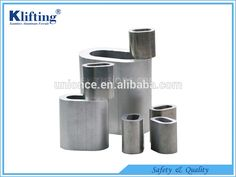 Safety Wire Rope Aluminum Hourglass Sleeves | alibaba | Pinterest ...
