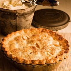 Old Fashioned Apple Pie> It's secret is frozen butter!
