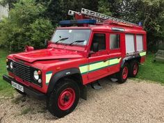 land rover 110 defender fire engine For Sale Land Rover Series 3, Land Rover Defender 110, Rescue Vehicles, Army Vehicles, 6x6 Truck, Utility Services, Mini Bus, Off Road, Search And Rescue