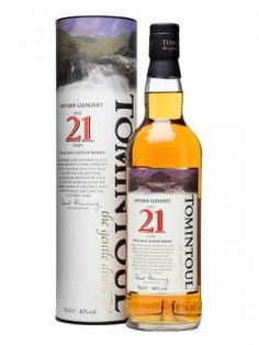 TOMINTOUL 21 YEARS OLD SPEYSIDE GLENLIVET SINGLE MALT   VINTAGES 288225 | 700 mL bottle     Price $ 126.95     Made in: Scotland, United Kingdom   By: Angus Dundee Limited     Release Date: Oct 27, 2012     Spirits, Whisky/Whiskey, Single Malt Scotch  40.0% Alcohol/Vol.