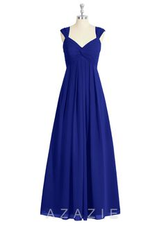 Shop Azazie Bridesmaid Dress - Kaitlynn in Chiffon. Find the perfect made-to-order bridesmaid dresses for your bridal party in your favorite color, style and fabric at Azazie.