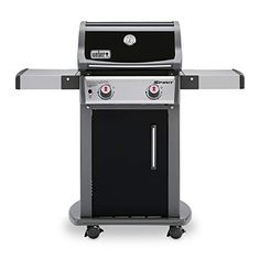 Weber Spirit Black Porcelain Enamel Liquid Propane Gas Grill at Lowe's. Weber's Spirit propane gas grill has been completely re imagined from the previous model, and the proof is visible in features throughout Grill Weber, Weber Grills, Weber Spirit, Gas Grill Reviews, Best Gas Grills, Fold Down Table, Bbq, Propane Gas Grill, Steel Cabinet