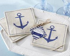Find beach wedding favors and Summer party favors at Wedding Paper Divas. Nautical beach favors make any beach-themed bridal shower or wedding reception complete. Browse our summer favors today. Nautical Wedding Favors, Nautical Wedding Inspiration, Wedding Favours Bridesmaids, Nautical Bridal Showers, Nautical Theme Decor, Wedding Party Favors, Wedding Lunch, Nautical Nursery, Nautical Anchor