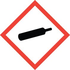 Brady 118835 Vinyl GHS Gas Pressure Picto Labels , Black/Red On White, 2 Width x 2 Height, Pictogram Gas Pressure Labels per Card, 1 Card per Package) Health And Safety Poster, Safety Posters, Hazard Communication, Hazard Symbol, Label Shapes, Black Friday Specials, Thermal Printer, Free Graphics, Under Pressure