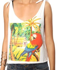 Tropical Parrot Tank