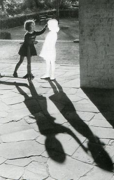 Two Girls With Shadow, 2004, Hans Peter Feldmann