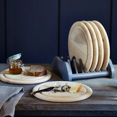 Wooden Plates - Mad About The House