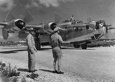 retrowar  The ubiquitous B-24 Liberator