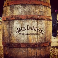Having an old keg filled with jack Daniels at my wedding