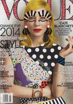 #papercraft #magazinemondays inspiration Re.Cover by Ana Strumpf #Vogue
