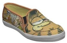 Vintage Garfield Shoes