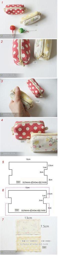 Nähen Sie eine Handtasche oder Make-up Tasche. Foto Meisterklasse + Muster. Diskussion über Liveinternet - Russisch Service Online-Tagebücher