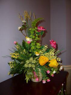 Floral Arrangement #Handmade