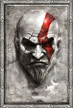Artwork by Cecil Kim from the God of War III show.  http://gnomongallery.com/shows/2010/god-of-war-3/index.php
