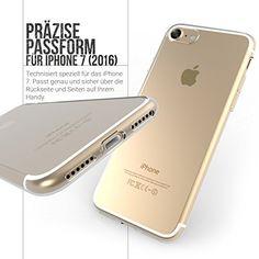 iPhone 7 Hülle, [0.5mm] UltraSlim Transparent Case, Cover, schutzhülle – von Yousave Accessories - http://www.xn--handyhllen-shop-4vb.de/produkt/iphone-7-huelle-0-5mm-ultraslim-transparent-case-cover-schutzhuelle-von-yousave-accessories/