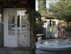 Nisanyan Hotel is a small hotel in a historic hill village near Ephesus