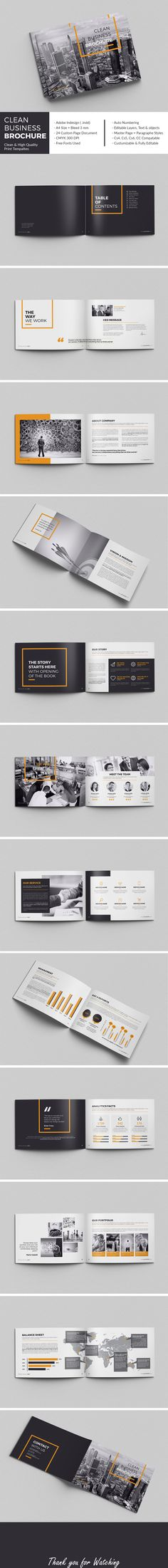 I like the usage of black and white and one bold color. The layout is very simple. Less is more approach.