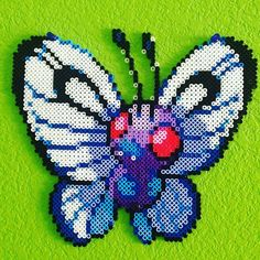 Butterfree - Pokemon perler beads by poke_119