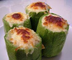 En tu línea con Dunia: Calabacines rellenos de queso azul y nueces 6pp/ra...