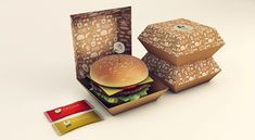 Illegal Burger visual identity by Isabela Rodrigues 04 FOOD BRANDING! Illegal Burger visual identity by Isabela Rodrigues Burger Packaging, Branding And Packaging, Rice Packaging, Food Branding, Branding Design, Takeaway Packaging, Promotional Design, How To Cook Rice, Packaging