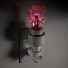 Kikkerland Plasma Bulb Night Light ($15/now)