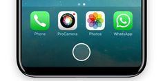Más detalles del iPhone 8: el botón home cambiará de tamaño