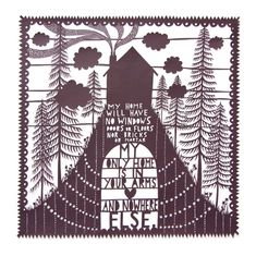 by Rob Ryan - All About Papercutting blog