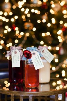 Such a great gift for the host   Homemade infused liquors.