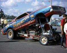 Gene Snow's Rambunctious Funny Car