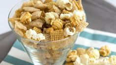 sweet and salty popcorn chex mix