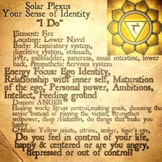 Solar Plexus, Thy divine Will - loved and pinned by www.omved.com