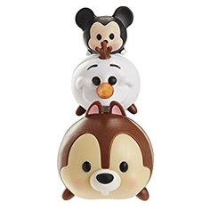 Amazon.com: Tsum Tsum 3-Pack Figures: Chip/Olaf/Mickey: Toys & Games