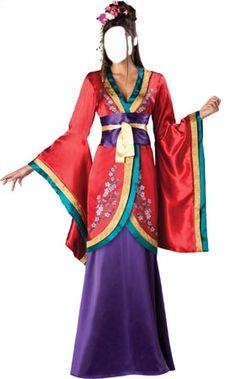 sexy Mulan | Disfraz Mula]