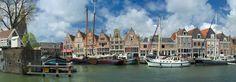 Möchten Sie auch eine tolle Küchenrückwand? Hoorn Hafen als Nischenverkleidung für Ihre Küche bei PimpYourKitchen.