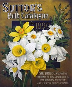 Sutton's Bulb Catalogue for 1890.